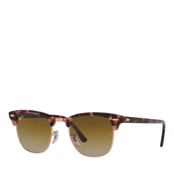 sunglasses, Ray-Ban, 0RB3016 Pink Havana
