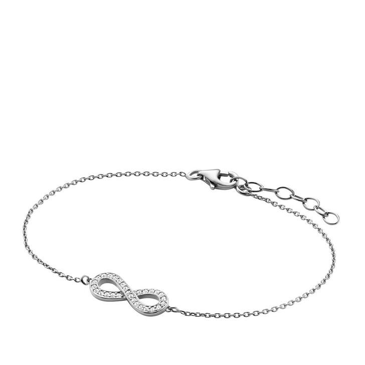 bracelets, BELORO, Bracelet Infinity Zirconia Silver