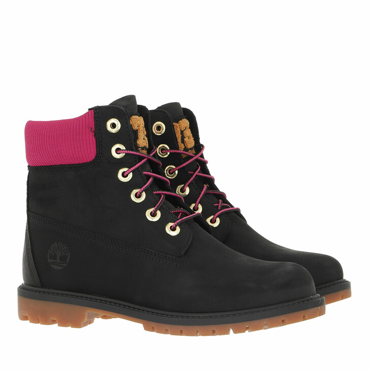shoes, Timberland, Heritage Boot Cupsole Black