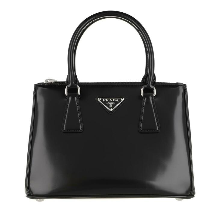 Handtasche, Prada, Galleria Shopping Bag Leather Black