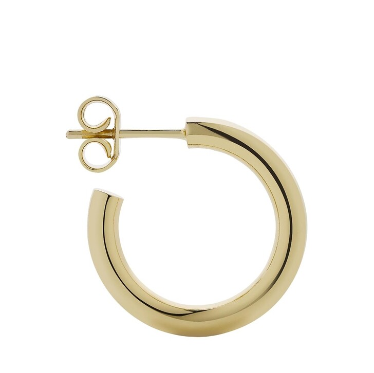 Ohrring, Meadowlark, Taboo Hoop Earrings Medium Gold Plated