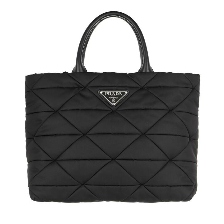Handtasche, Prada, Medium Padded Tote Bag Black