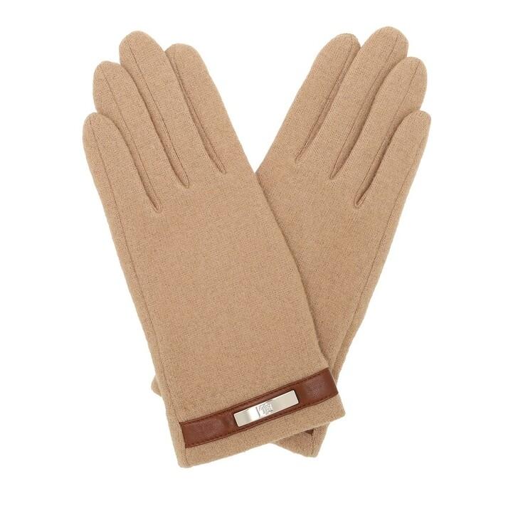 Handschuh, Lauren Ralph Lauren, Glove Wool Classic Camel