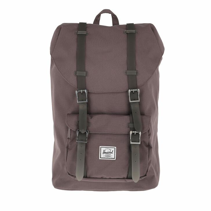 bags, Herschel, Little America Mid-Volume Backpack Sparrow