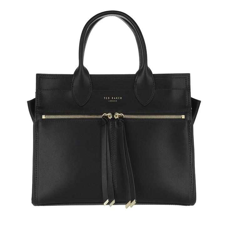 Handtasche, Ted Baker, Regina Zip Detail Small Tote Bag Black