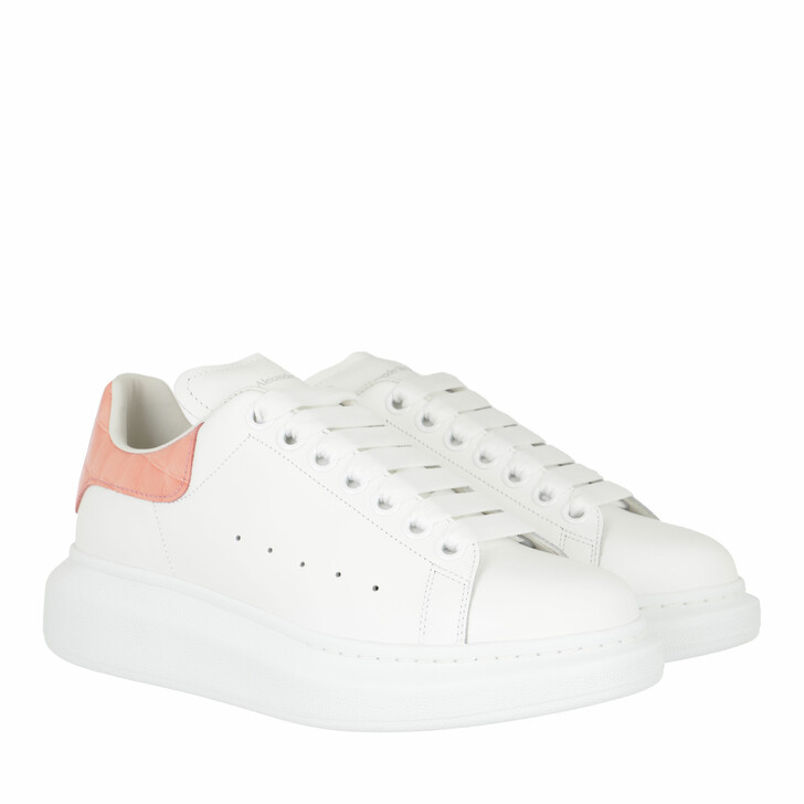 shoes, Alexander McQueen, Oversized Sneakers White Pink