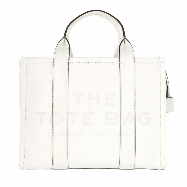 bags, Marc Jacobs, The Leather Small Tote Bag Leather Cotton