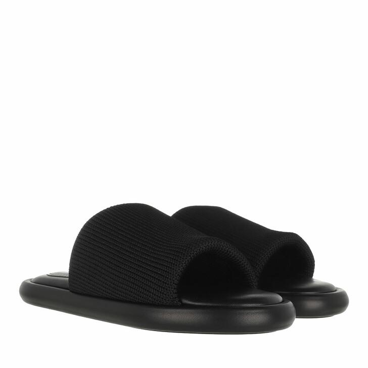Schuh, Proenza Schouler, Pipe Knit Slide Black