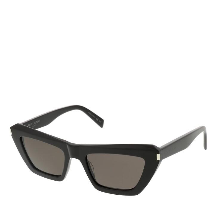 sunglasses, Saint Laurent, SL 467-001 52 Sunglass Woman Acetate Black-Black-Black