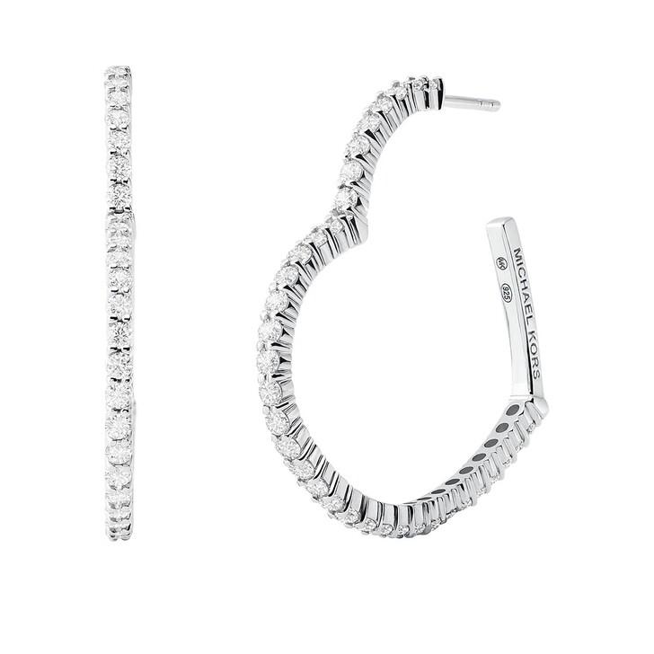Ohrring, Michael Kors, Kors Love Earrings Silver