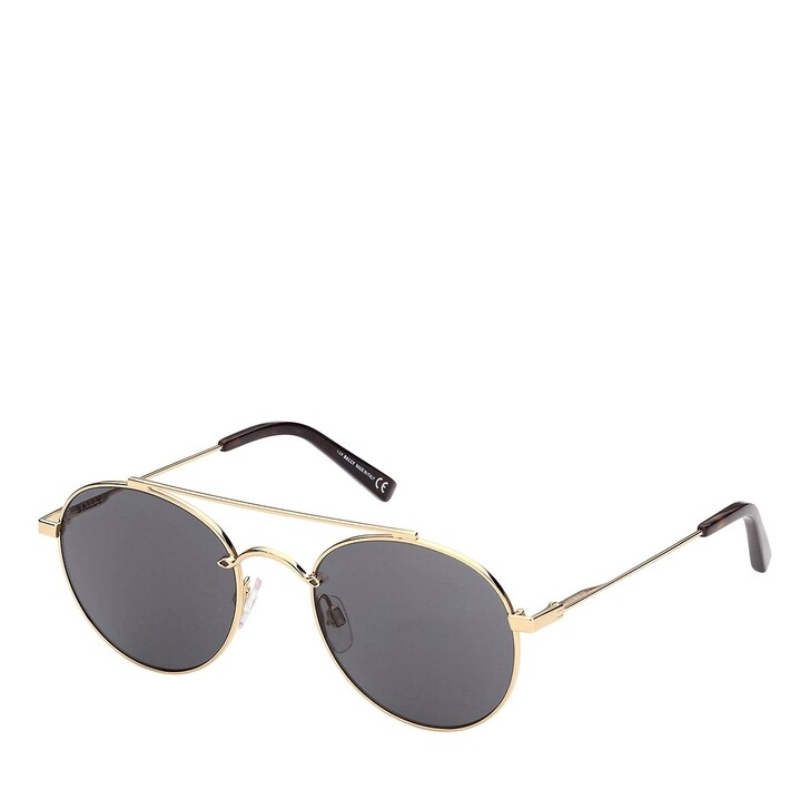 Sonnenbrille, Bally, BY0029 Shiny Deep Gold/Brown