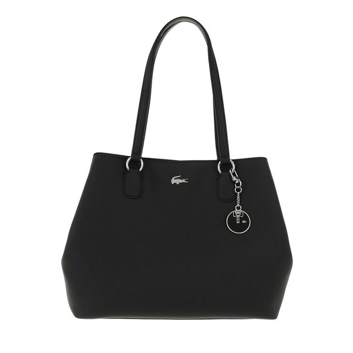 Handtasche, Lacoste, Daily Classic Hobo Shoulder Bag Noir