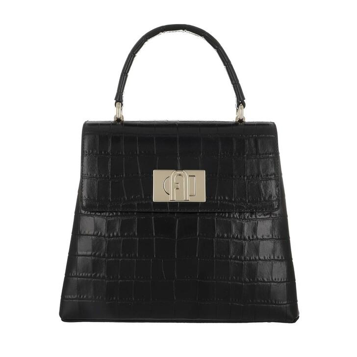 Handtasche, Furla, 1927 Small Handle Bag Black