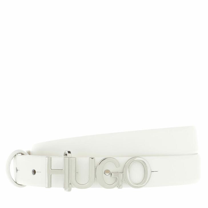 Gürtel, Hugo, Zula Belt 2 cm  White