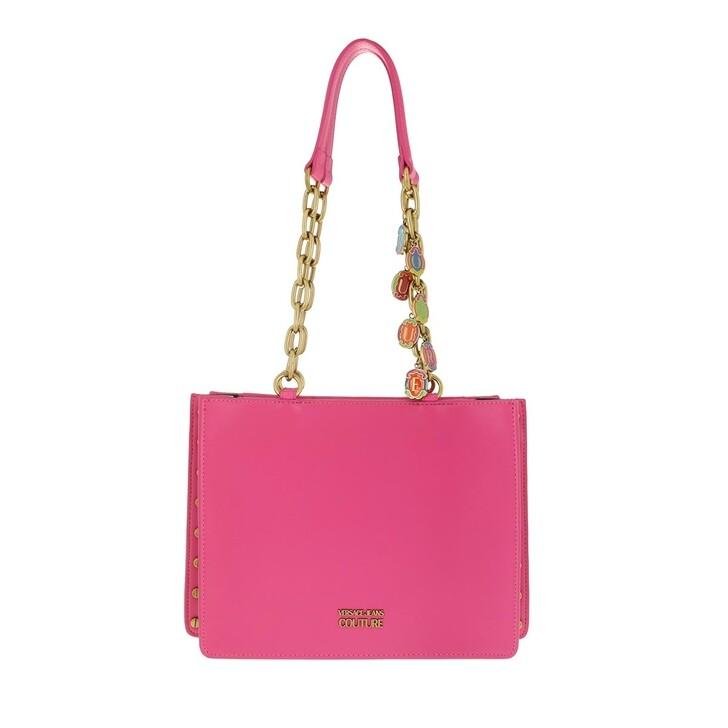 Handtasche, Versace Jeans Couture, Satchel Bag Fuxia