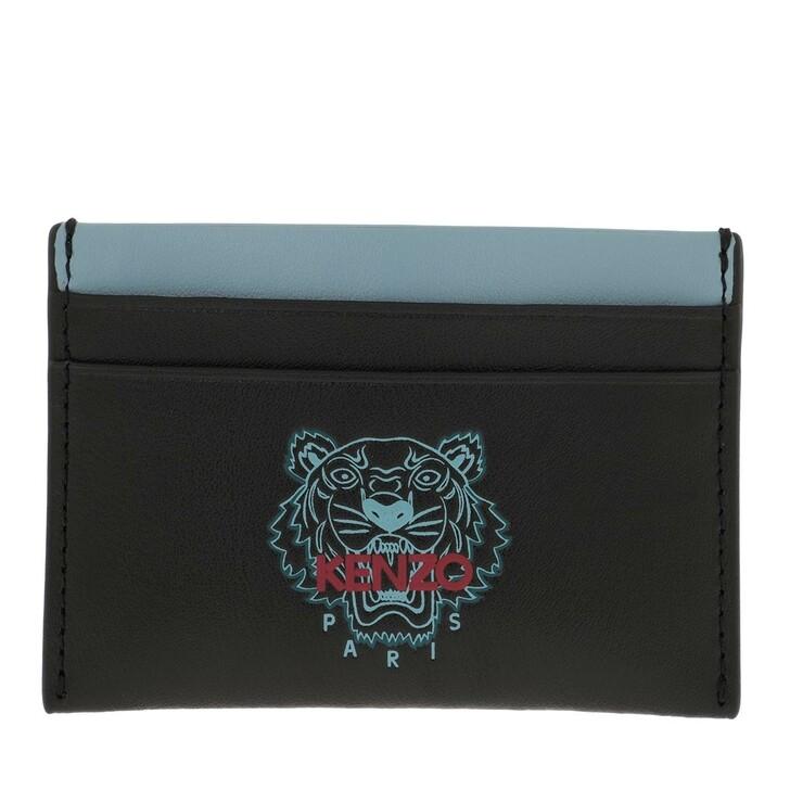 wallets, Kenzo, Card case Black