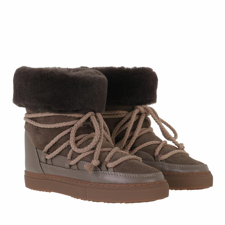 shoes, INUIKII, Classic High  Taupe