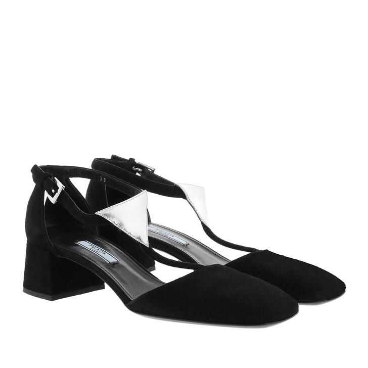 Schuh, Prada, Dress Sandals Black