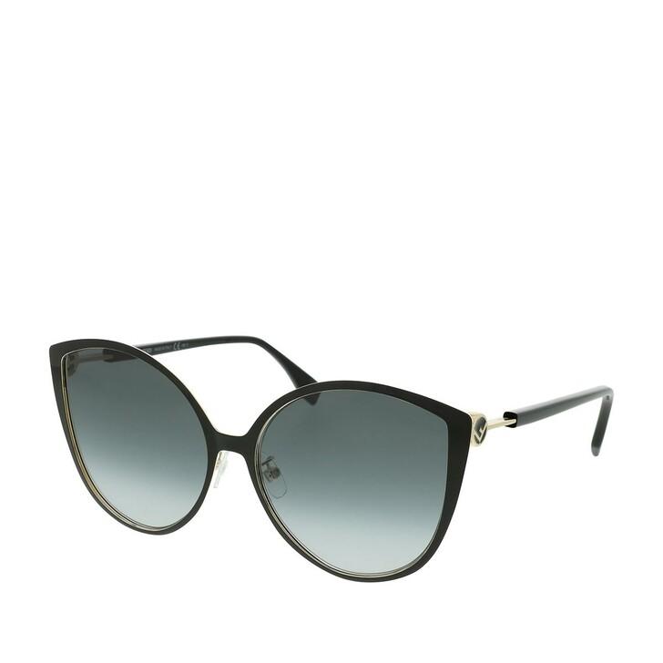 Sonnenbrille, Fendi, FF 0395/F/S Black Gold