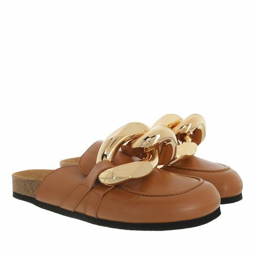 j.w.anderson -  Loafers & Ballerinas - Calf Tresor Loafers - in braun - für Damen