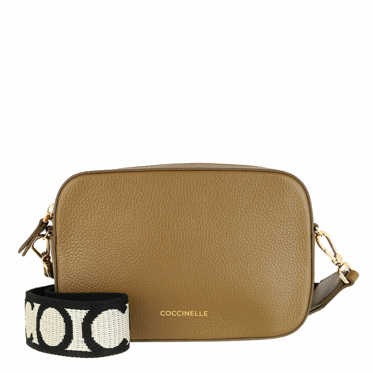 Handtasche, Coccinelle, Mini Bag Bottalatino Leather Moss Green