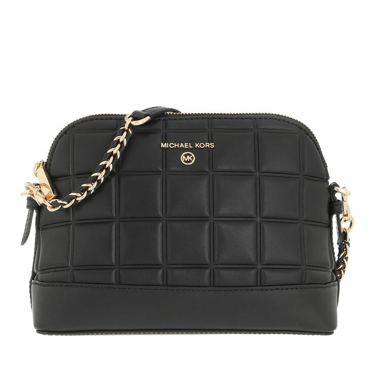 bags, MICHAEL Michael Kors, Large Dome Xbody Black