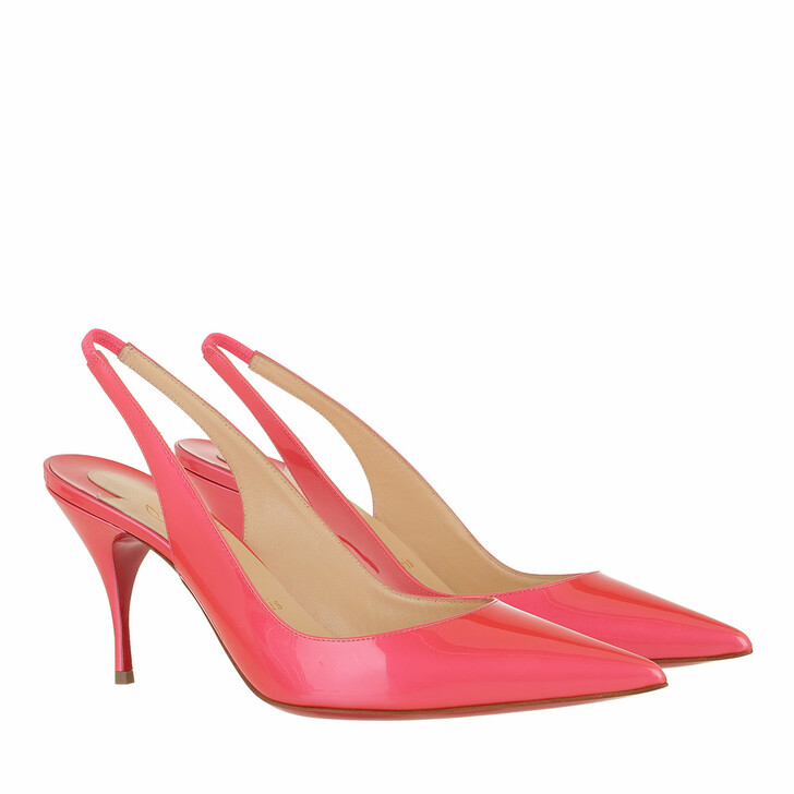 Schuh, Christian Louboutin, Clare Slingback 80 Pumps Pink