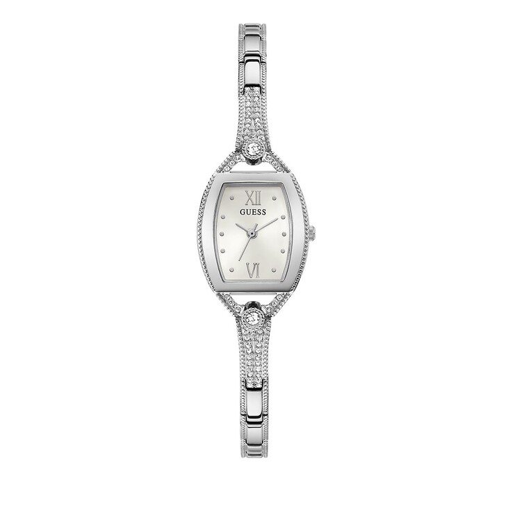 Uhr, Guess, LADIES JEWELRY WATCH Silver Tone