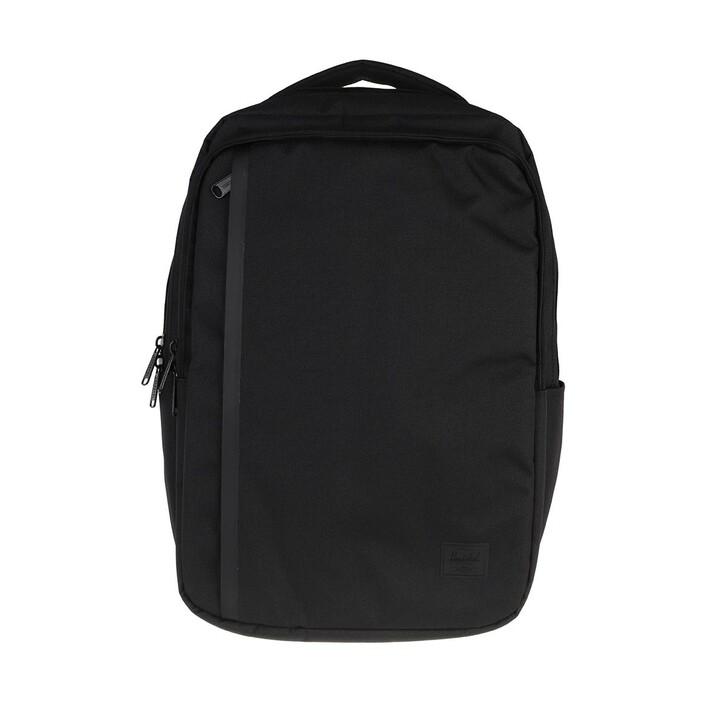 bags, Herschel, Travel Daypack Backpack Black
