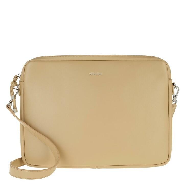 Handtasche, Maison Hēroïne, Jamie 13'' Laptop Bag Light Creme