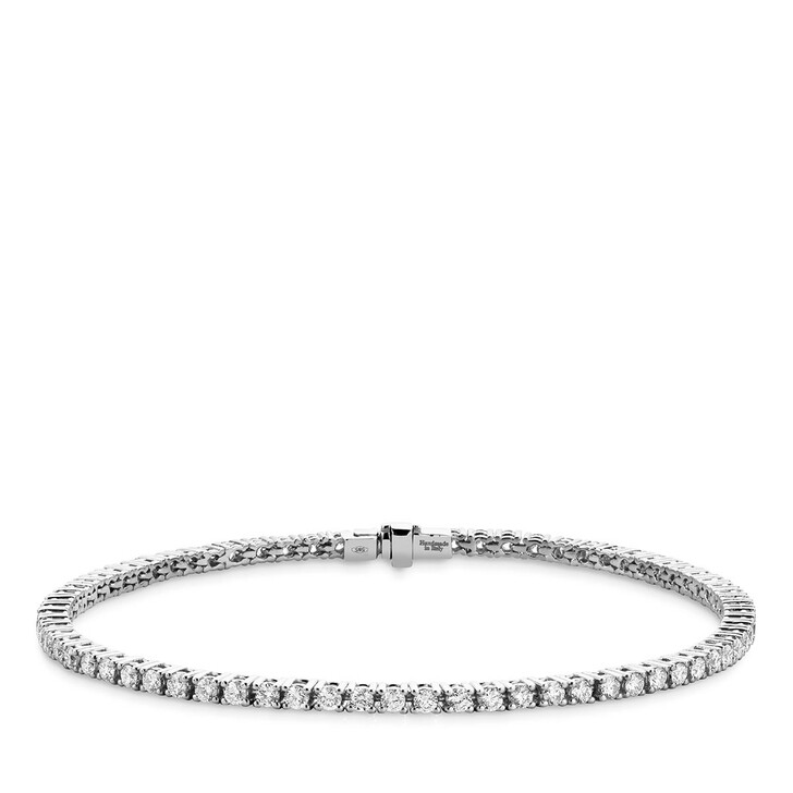 bracelets, DIAMADA, 2ct Diamond Tennis Bracelet  14KT White Gold