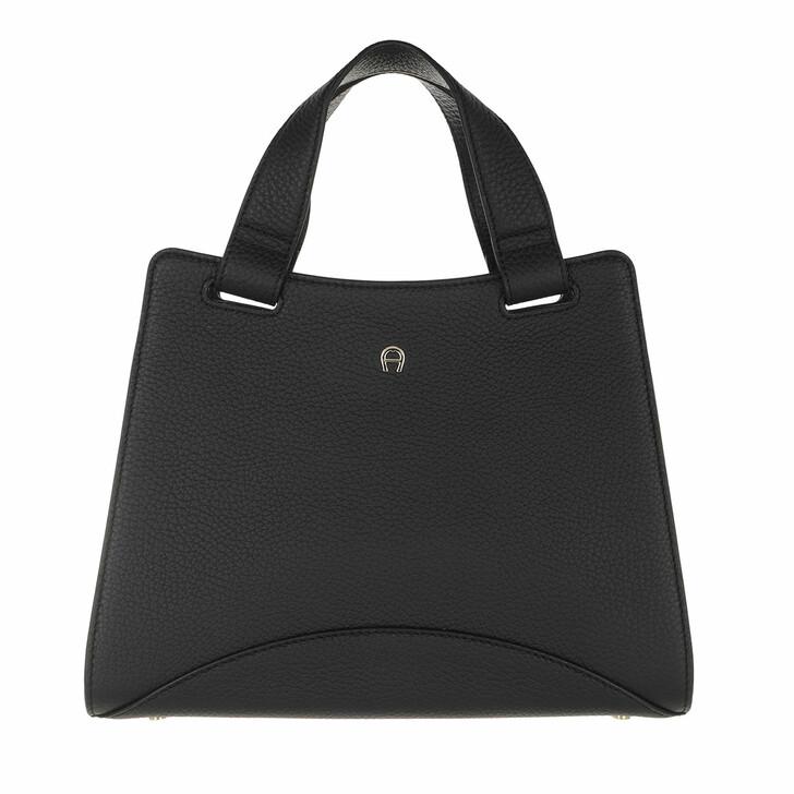 bags, AIGNER, Selma Handbag Black