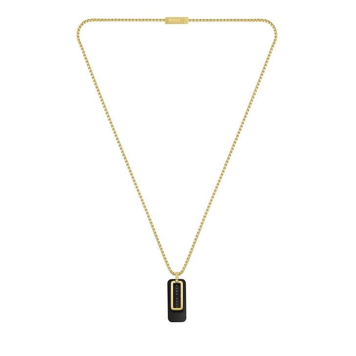 Kette, Boss, Necklace Yellow Gold