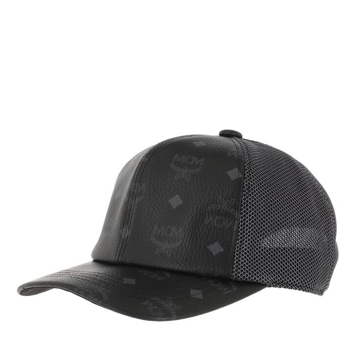 Mütze, MCM, Visetos Mesh Cap   Black
