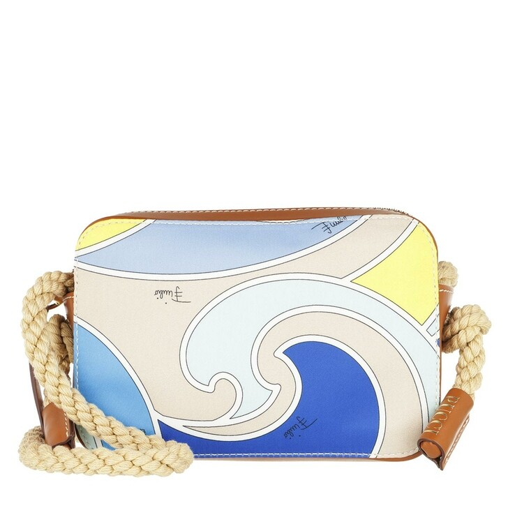 Handtasche, Emilio Pucci, Mini Bag Quirimbas Turchese