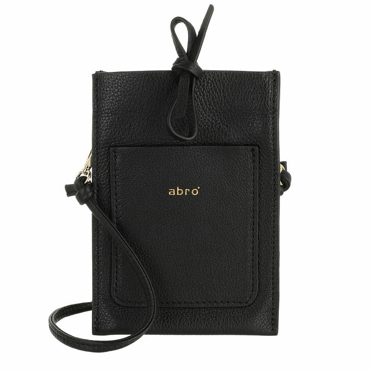 smart_cases, Abro, Mobile-Crossbody Bag RAQUEL  Black/Gold