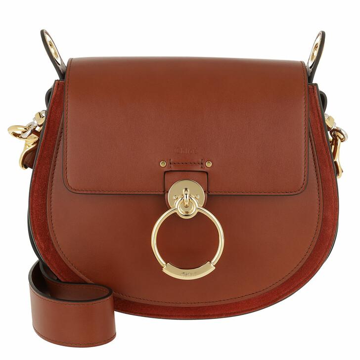 Handtasche, Chloé, Tess Shoulder Bag Sepia Brown