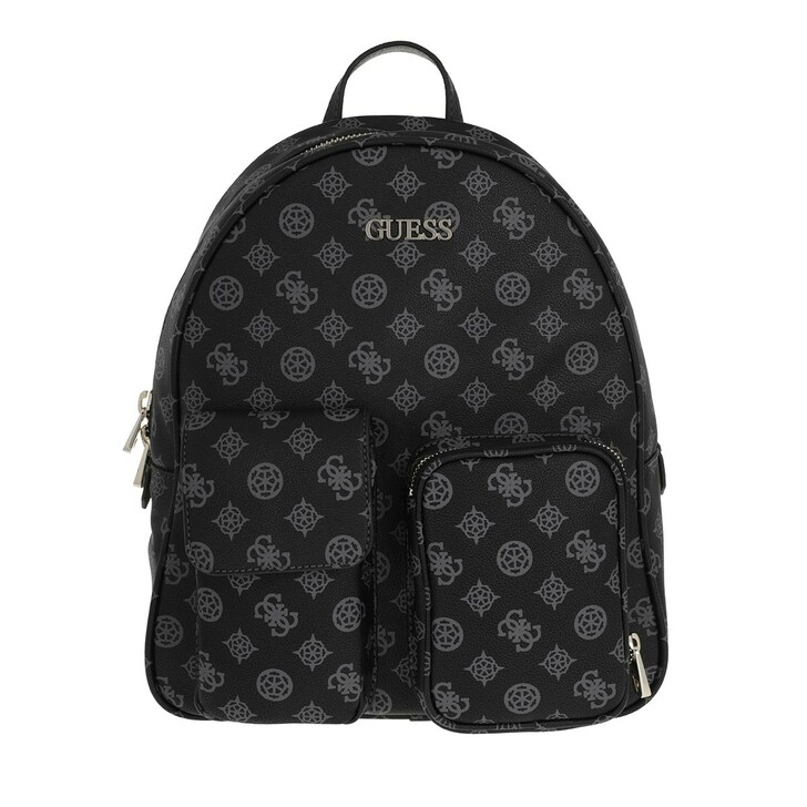 bags, Guess, Utility Vibe Large Backpack Coal