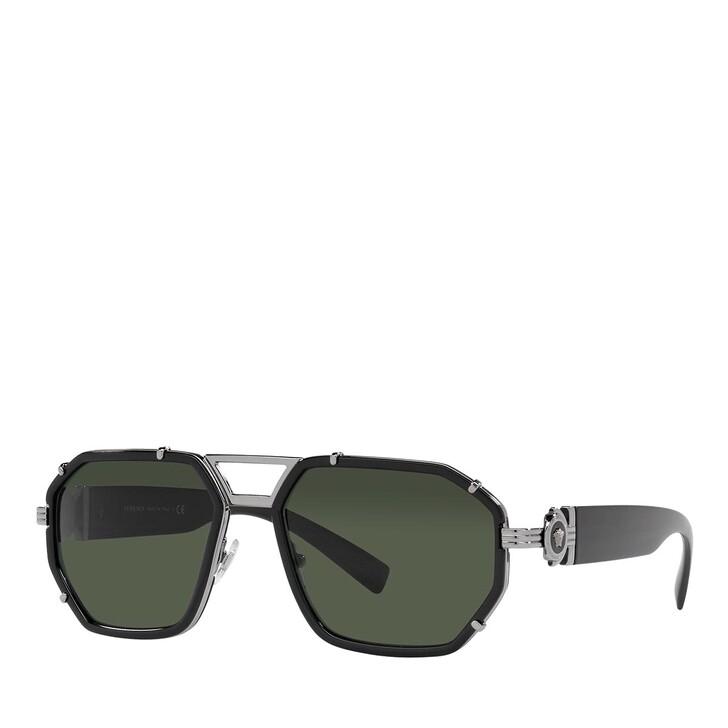 sunglasses, Versace, 0VE2228 BLACK
