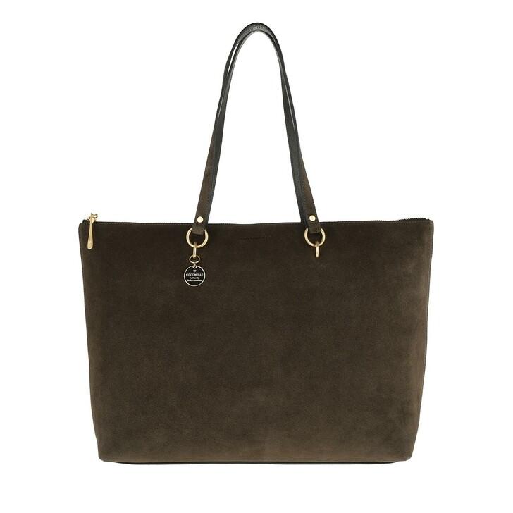 Handtasche, Coccinelle, Alpha Suede Shopping Bag Reef