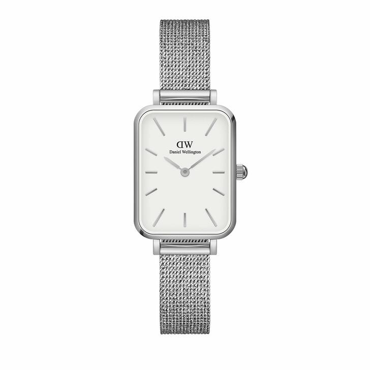 watches, Daniel Wellington, Watch Quadro 20X26 Pressed Sterling Silver White