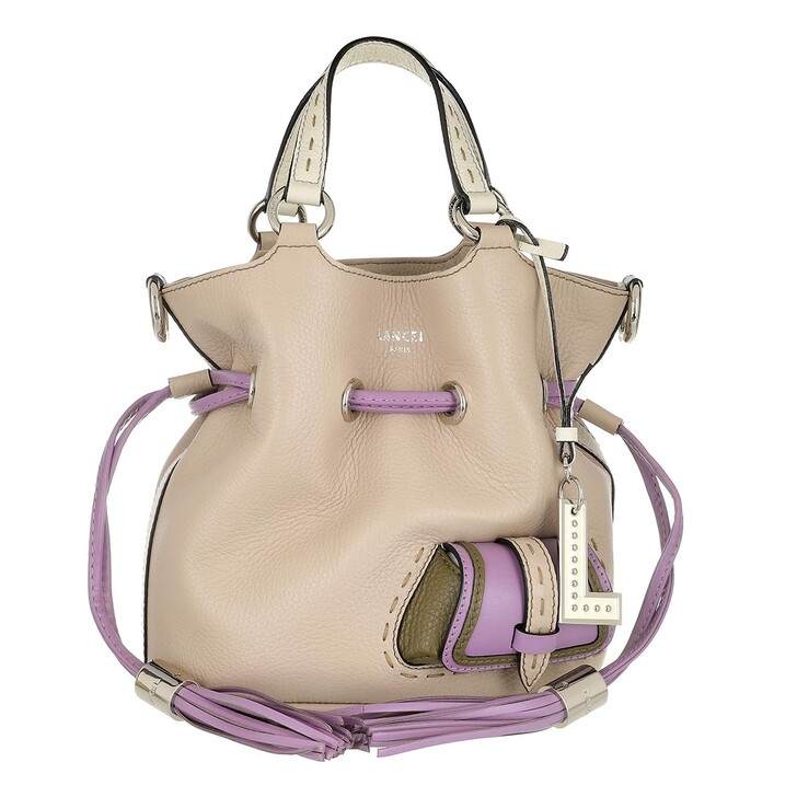 Handtasche, Lancel, Flirt Multicolore Bucket Bag Small Multicolour Stone
