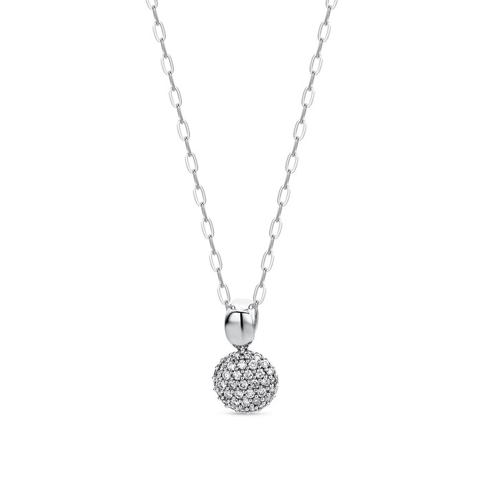 necklaces, DIAMADA, 0.15ct Diamond Necklace  18KT White Gold