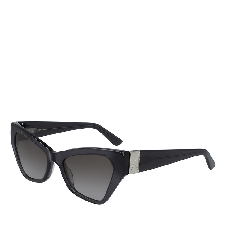 Sonnenbrille, Karl Lagerfeld, KL6010S GREY TRANSPARENT