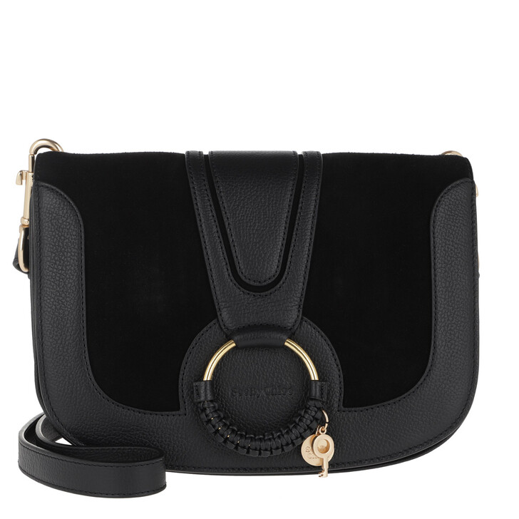 Handtasche, See By Chloé, Hana Crossbody Bag Leather Black