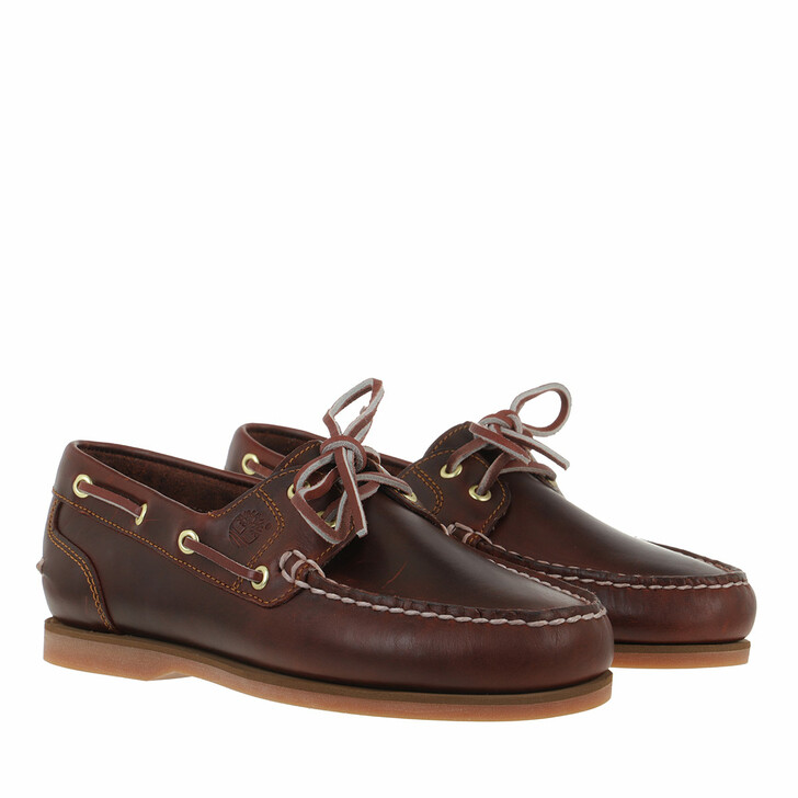 Schuh, Timberland, Classic Boat Amherst 2 Eye Boat Shoe  Brown