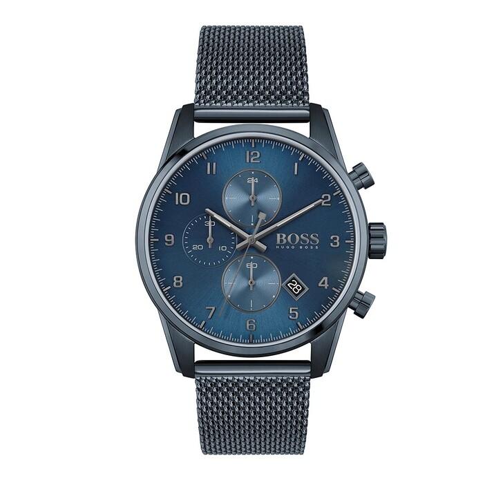 Uhr, Boss, Skymaster Watch Blue