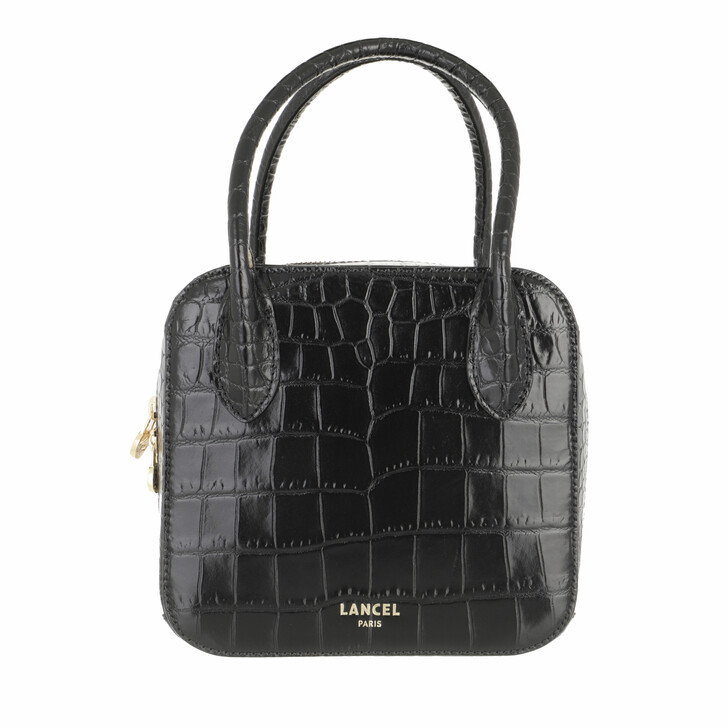 bags, Lancel, Handbag S Black