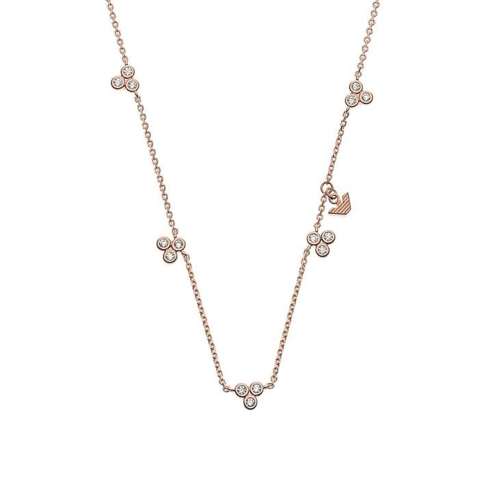 necklaces, Emporio Armani, Sterling Silver Necklace Roségold