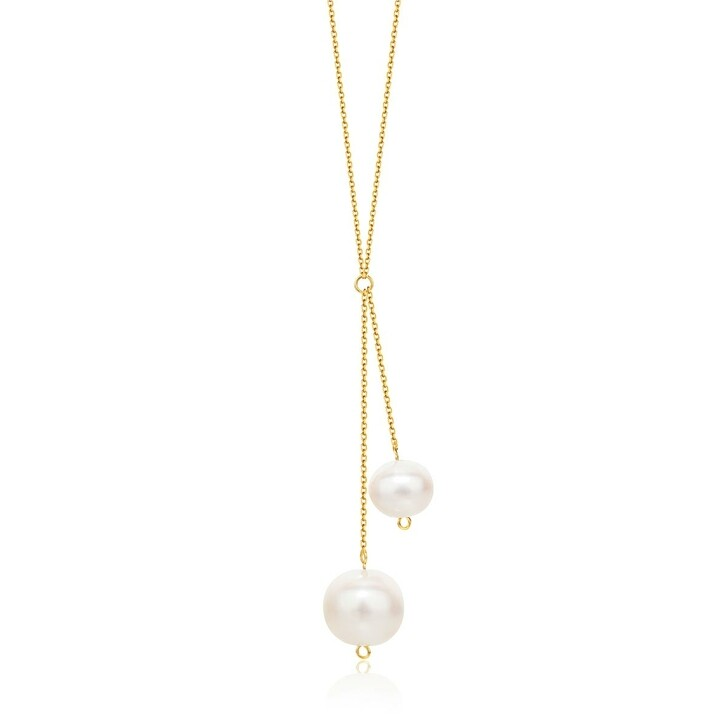 necklaces, DIAMADA, 14KT (585) Pearl Necklace Yellow Gold